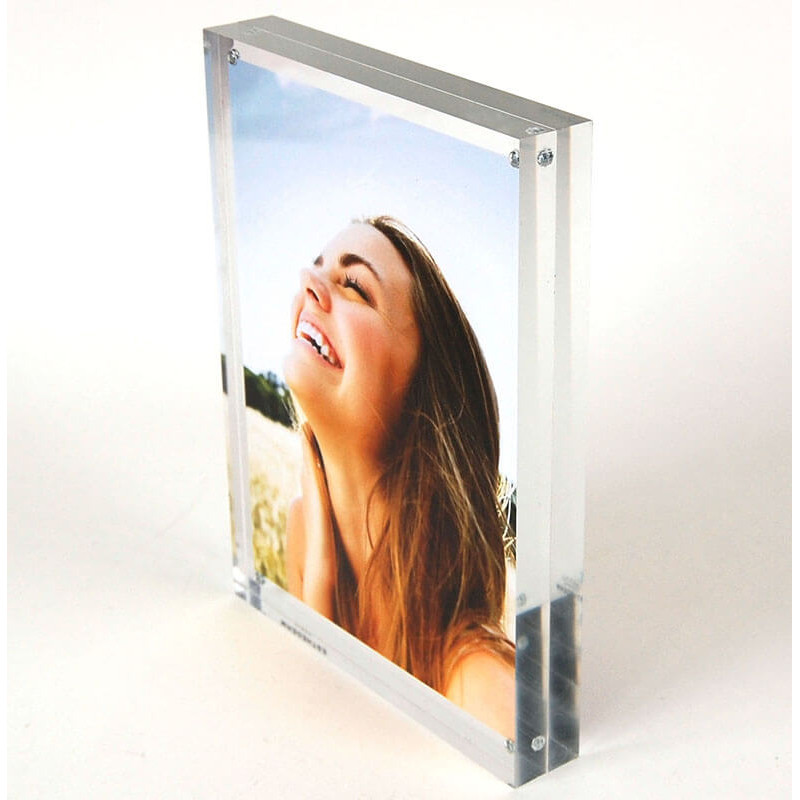 porte-étiquette cadre plexi magnétique # PE0037