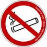 adhésif interdiction de fumer # DP1211