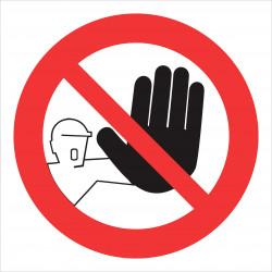 interdiction aux personnes # AD1125