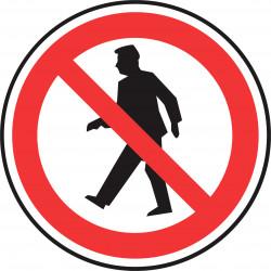 signalisation interdit aux piétons # AD1111