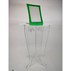 tablette sur pied avec plateau # MD0131