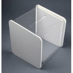 urne transparent joue blanche # PB0229