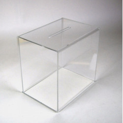 urne acrylique transparente # PB0218