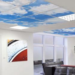 dalle décor pour faux-plafond # AK0411