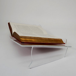 Porte-livre ouvert incliné