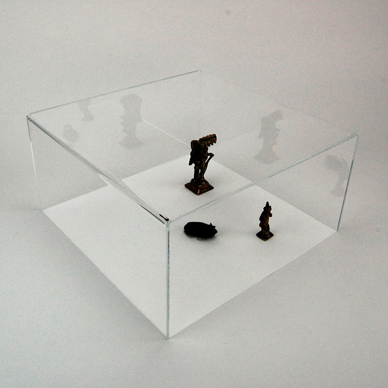 vitrine cube capot # MB7051