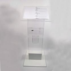 pupitre jeu concours  pied lesté, urne,porte brochure  # PB0705