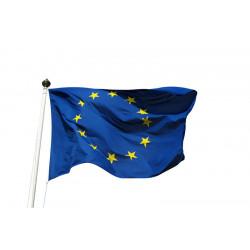 Drapeau et pavillon européen à hisser