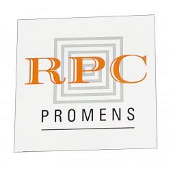 Enseigne murale plane en PVC 10mm, personnalisée.