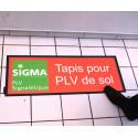 tapis-publicitaire porte-affiche # PE4011