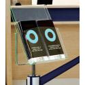 Porte-affiche pour poteau de guidage # MU0585