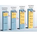 guide pour le choix d'une fixation de rampe lumineuse # EC3711A
