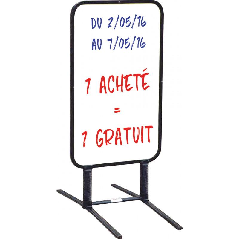 panneau-chevalet écriture effaçable # MU0125