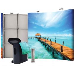 stand d'exposition avec comptoir # MB5051