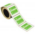 rouleau étiquettes adhésives personnalisées # ER0011
