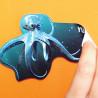 sticker réutilisable Yupotako # AD0001