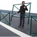 barrière de ville pour trottoir ou place # MU3871