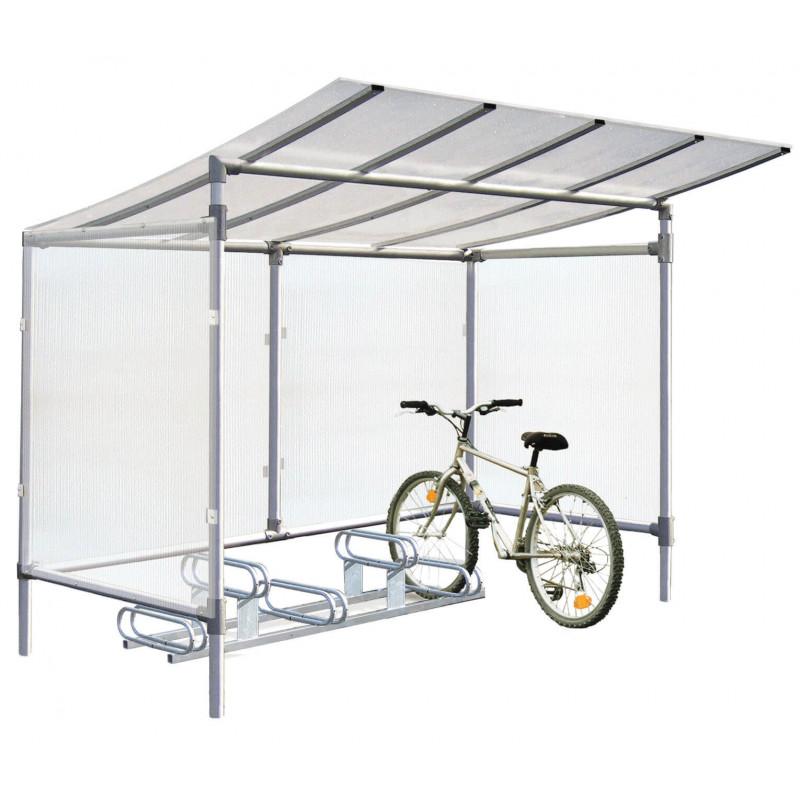 abri à vélos en aluminium # MU8011