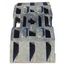 socle Plastobloc pour signalétique chantier et sécurité # PR0131