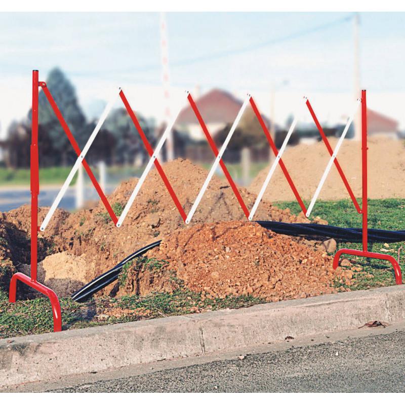 barrière de sécurité extensible pour chantier # MU2271