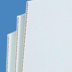 panneau carton micro-cannelures blanc # CP0791