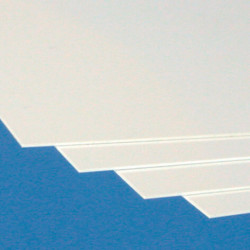 Plaque PVC Blanc Rigide Dpaisseur 1 3 Mm