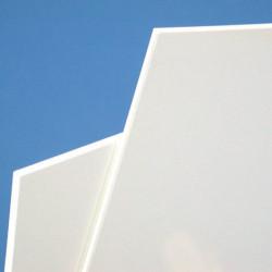 Plaque de PVC blanc rigide # MP0251