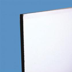 Plaque de PVC écolotwin blanc # MP0811