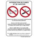 interdiction vapoter fumer # AD0111