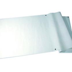 Bache PVC blanche 340gr vierge avec oeillets