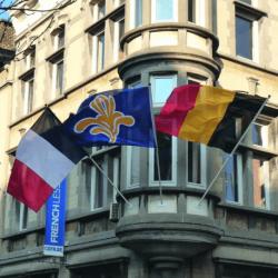 mât drapeau façade # PV0111