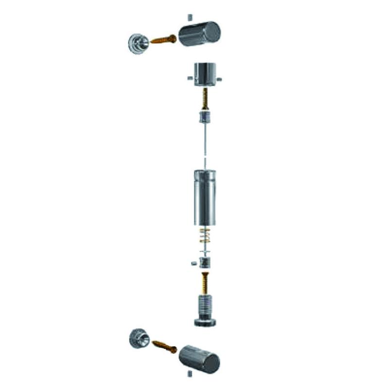 Signalétique sur cable - Kit mur/mur