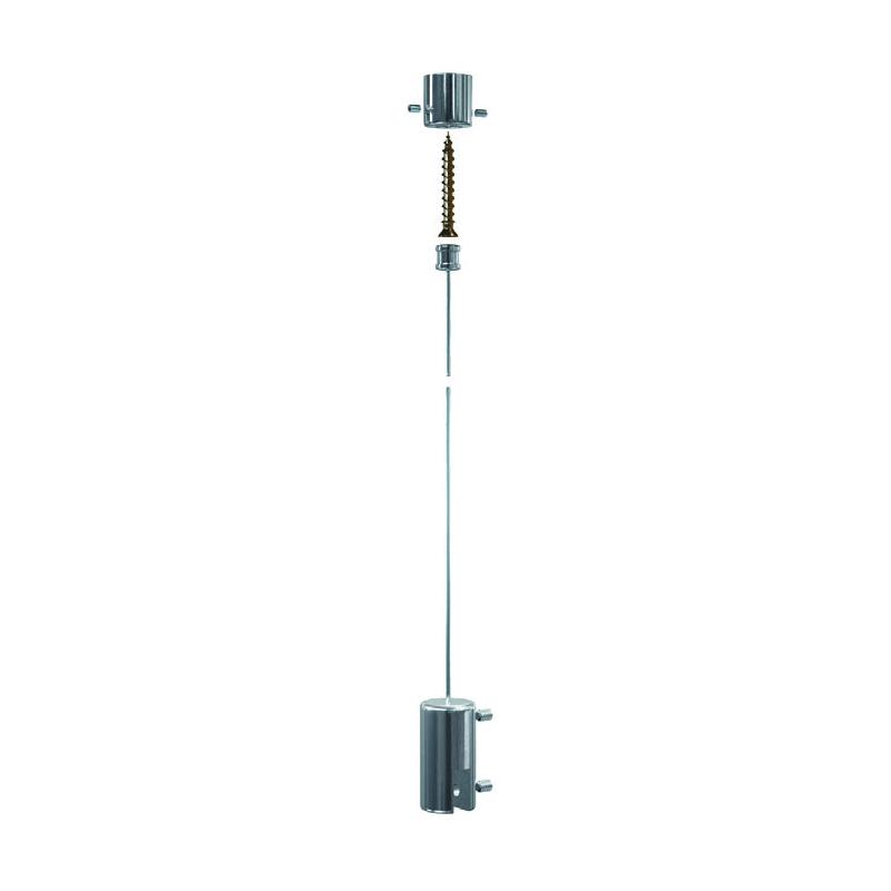 Signalétique sur câble - kit suspendu
