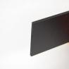 PVC expansé de couleur, surface satinée