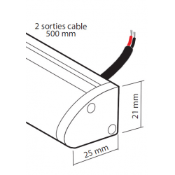 éclairage à LED, mini-rampe # EC2830