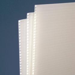 Plaque de Polypropylène blanc 600gr/m² # MP0131