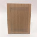 cadre Porte affiche ecologique et recyclable aspect bois