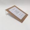 Porte étiquette recyclable aspect bois