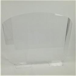 vitre paroi ecran de protection  de bureau et comptoir en plexiglass