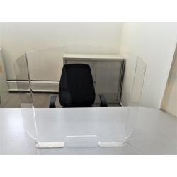 panneau de protection virus Hygiavirus pour bureaux et comptoirs