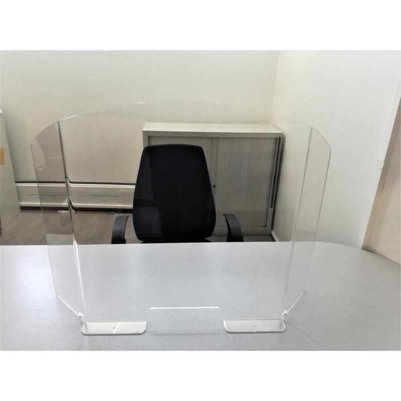 vitre ecran de protection pour bureau et comptoir