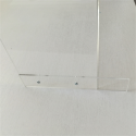 Panneau plexiglas protection virus plexiglas forme U a poser