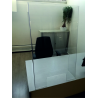 Hygiaphone de comptoir et bureau en PET
