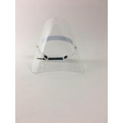 masque transparent de protection covid en PET