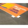 Panneau PVC personnalisé - Impression sérigraphie 2 couleurs