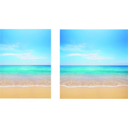 "Visuel fond de vitrine ""Mer1"" # BC2143"