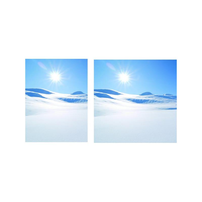 "Visuel fond de vitrine ""Hiver1"" # BC1133"