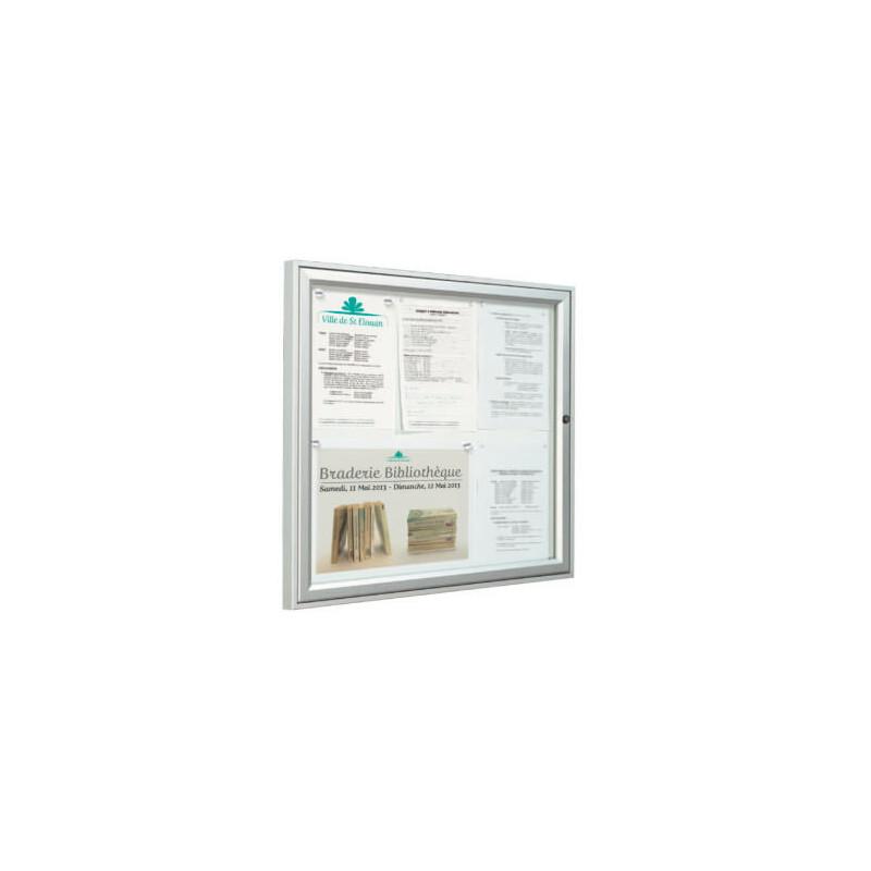 vitrine d affichage une porte # VT0011