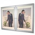 vitrine information 2 portes # VT0111