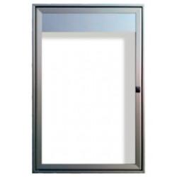 vitrine porte battante lumineuse # VT0071